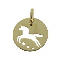 Médaille licorne simple