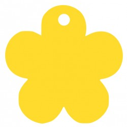 Médaille fleur