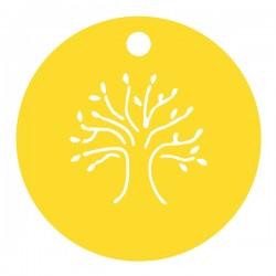 Médaille arbre de vie ronde