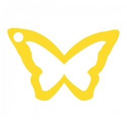 Médaille papillon evidé 20mmx12,5mm