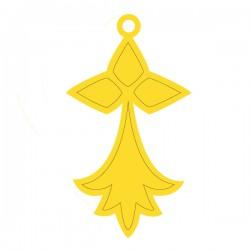 Médaille hermine 25mmx15,5mm