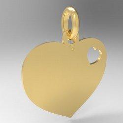 Médaille 1 petit cœur