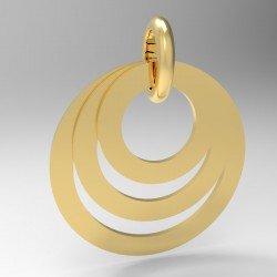 Médaille triple anneaux