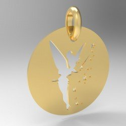 Médaille fée clochette