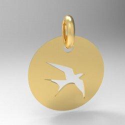 Médaille Silhouette Hirondelle
