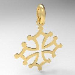 Médaille petite croix occitane