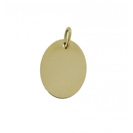 Médaille ovale