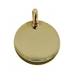 Médaille ronde simple