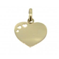 Médaille 3 petits cœurs simple