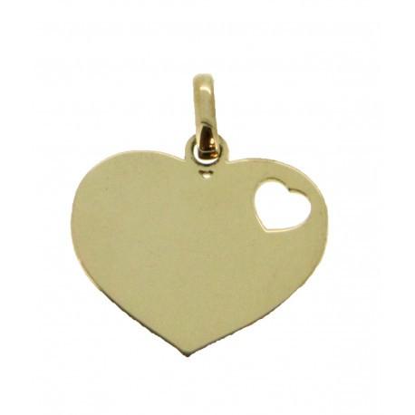 Médaille 1 petit cœur simple