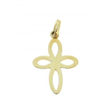 Médaille croix dessin simple