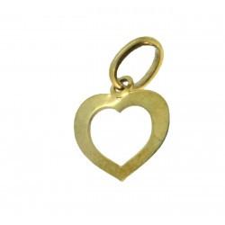 Médaille petit cœur évidé simple