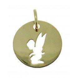 Médaille Silhouette fée simple