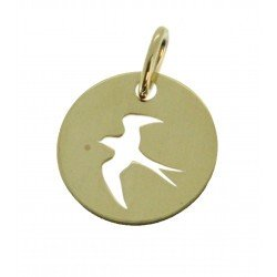 Médaille Silhouette fregatte simple