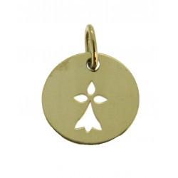Médaille Silhouette hermine simple