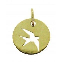 Médaille Silhouette hirondelle simple